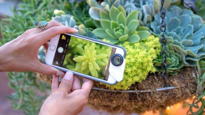 iPhone makro lens