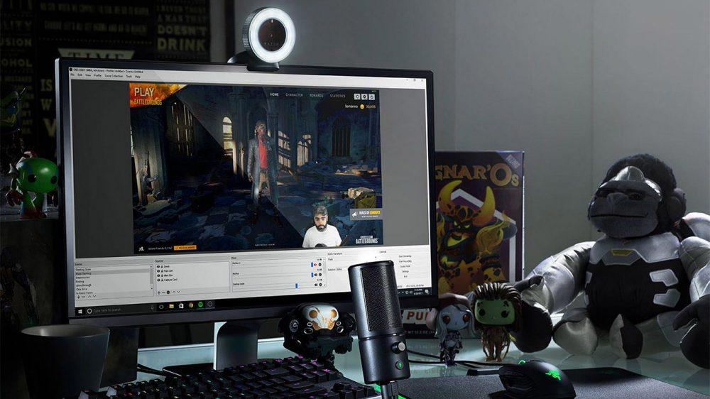 Razer Kiyo ve Seiren X ile oyun yayını