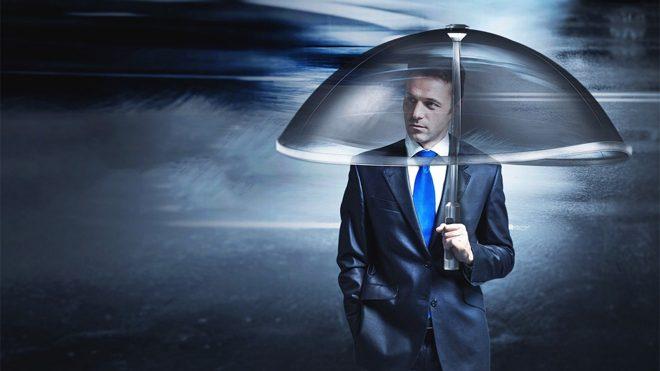 akıllı şemsiye Air shield umbrella