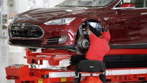tesla elektrikli otomobil fabrikası