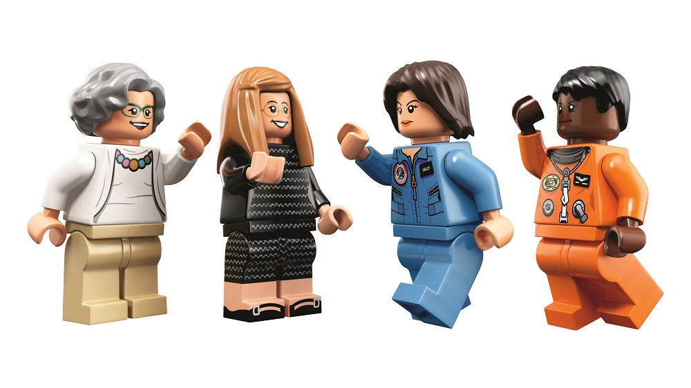 Women of NASA LEGO seti
