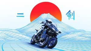 üç tekerlekli motosiklet yamaha niken