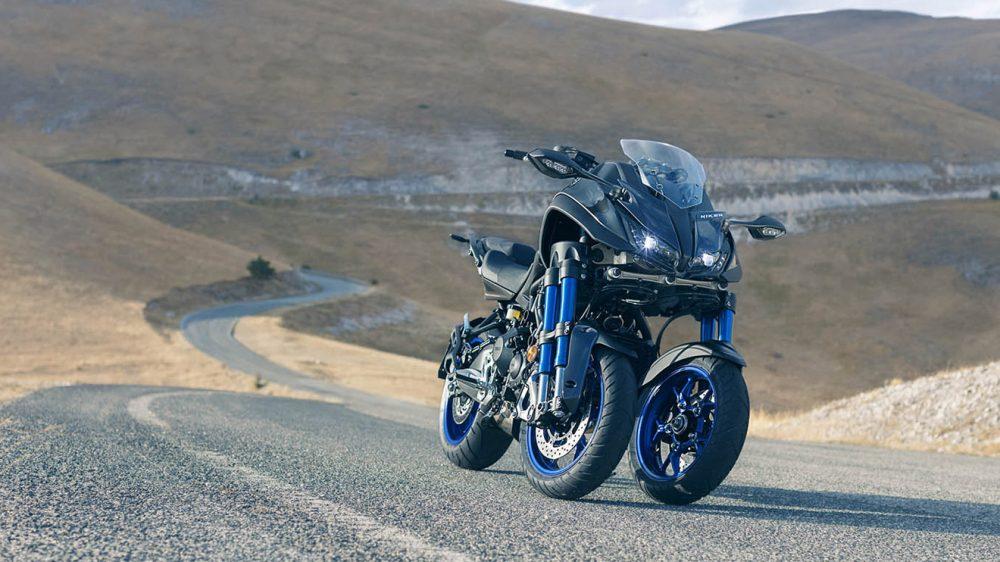 yamaha niken üç tekerlekli motosiklet