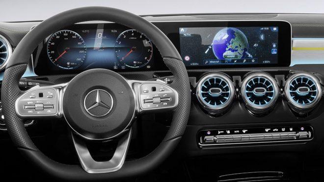 "2018 Mercedes A-Serisi'nin ""nihayet"" dedirten ilk kokpit ..."