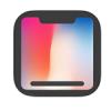 """iPhone X'in """"çentiğini"""" kaldıran yeni bir uygulama daha çıktı"""