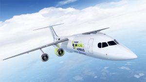 hibrit elektrikli uçak