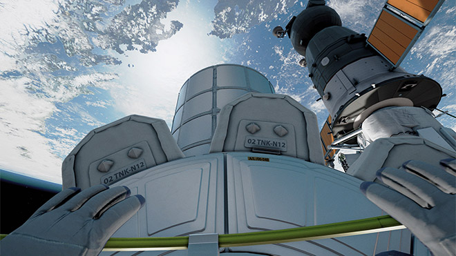 Home - A VR Spacewalk BBC