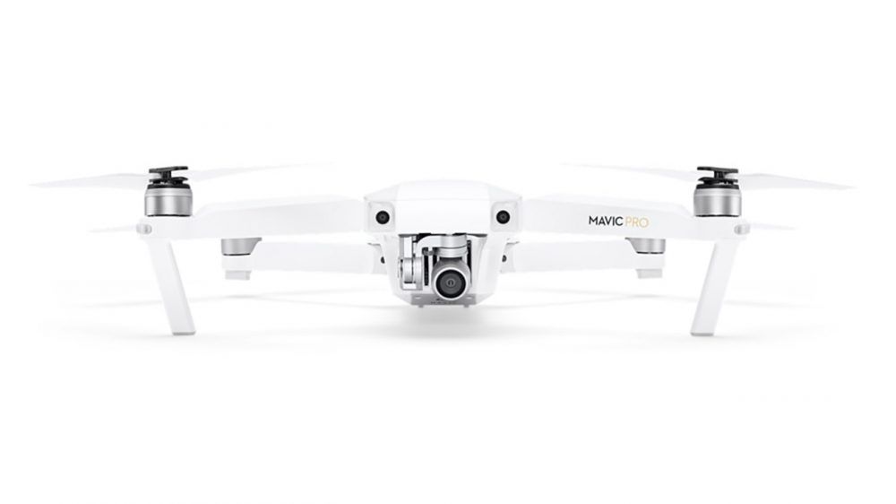 DJI Mavic Pro Alphine White Apple