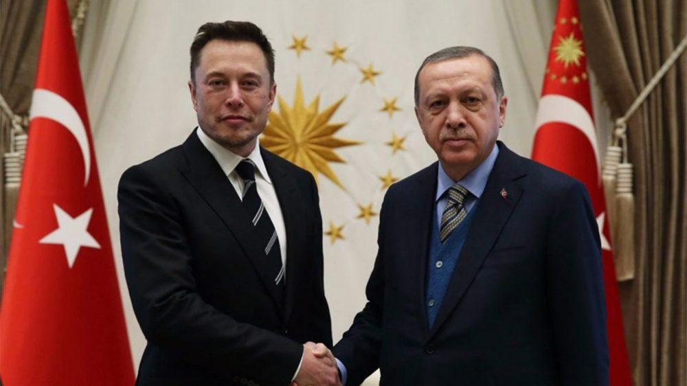 Elon Musk Cumuhrbaşkanı Erdoğan