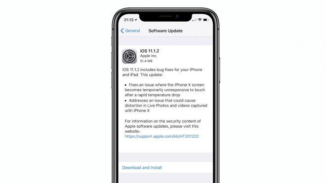 iphone X yazılım güncelleme durdurma