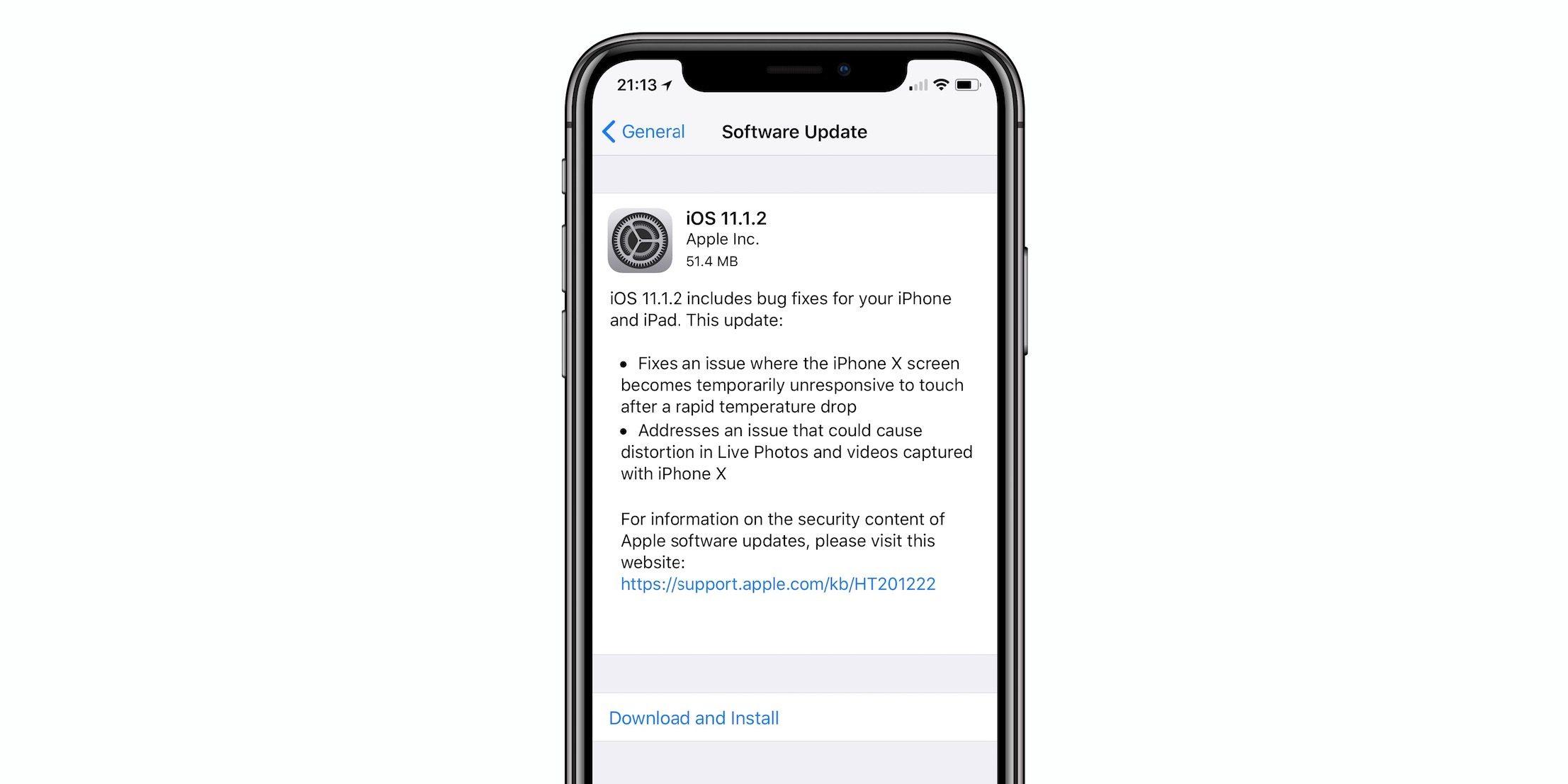 Iphone 8 yazılım güncelleme butonu yok