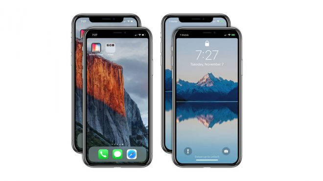 Notch Remover iPhone X Apple