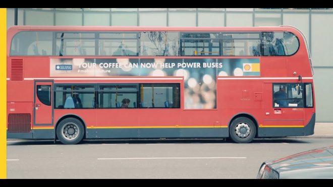 Londra kahve atığı