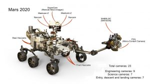 NASA Mars uzay aracı