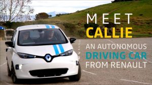 Renault otonom araç