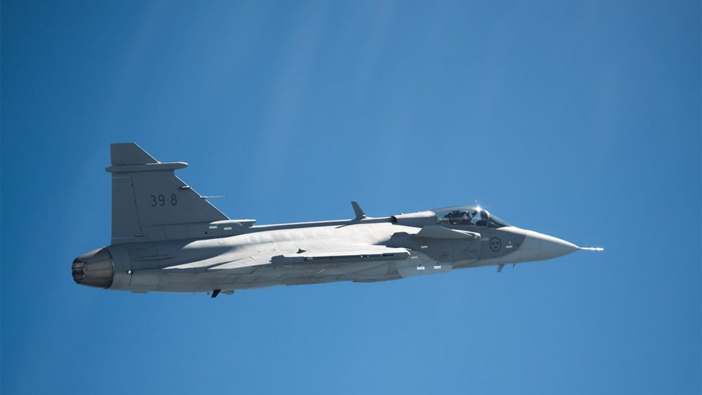 Saab Gripen E savaş uçağı