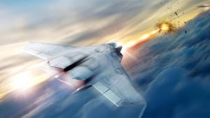 Lazer silahı savaş uçağı