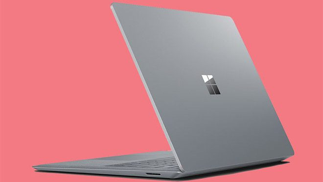 Time Microsoft Surface Laptop