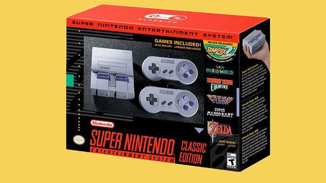 Time Super Nintendo Entertainment System