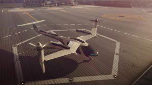 Uber NASA uçan taksi