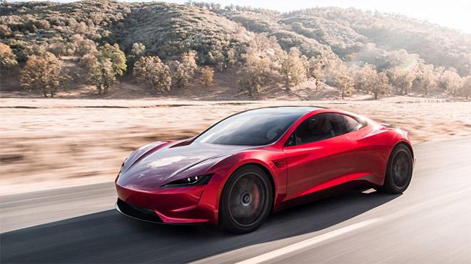 Tesla Roadster elektrikli otomobil