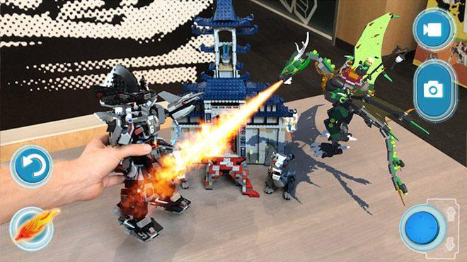 LEGO'dan artırılmış gerçeklik uygulaması geliyor