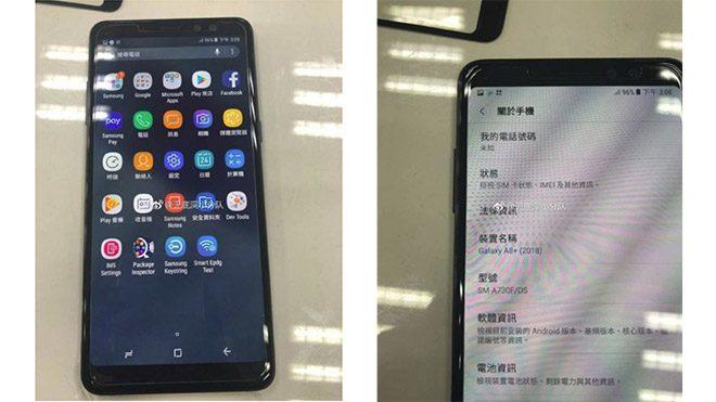 Samsung Galaxy A8+ (2018) ilk kez çalışırken görüntülendi