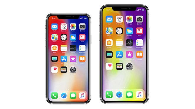 Apple Samsung OLED iPhone X Plus