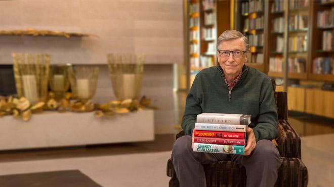 Bill Gates'in kütüphanesinden: Bu kış okumanız gereken 5 kitap