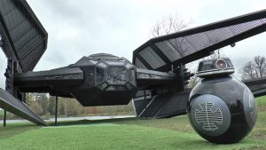 Colin Furze Star Wars: The Last Jedi TIE Silencer