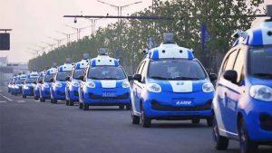 Çin sürücüsüz otomobil test