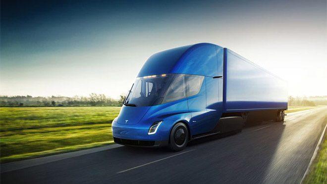 Elektrikli kamyon Tesla Semi için en büyük ön sipariş yapıldı