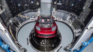 Elon Musk Tesla Roadster SpaceX Mars