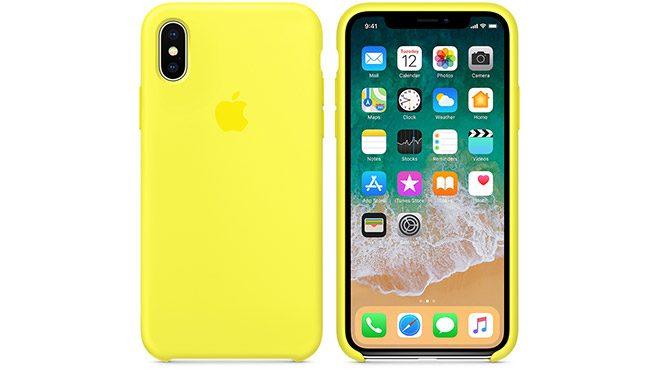 iPhone X'a özel silikon kılıflar yeni renk seçeneklerine kavuşuyor