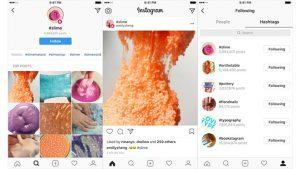 Instagram etiket takip