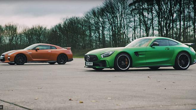 Nissan GT-R Mercedes-AMG GT R