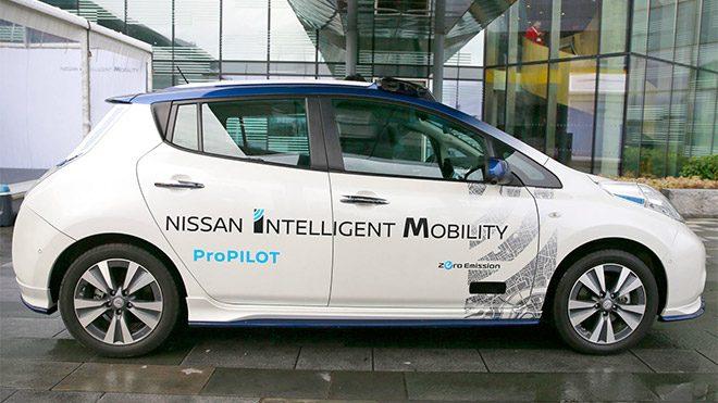 Nissan Sürücüsüz taksi
