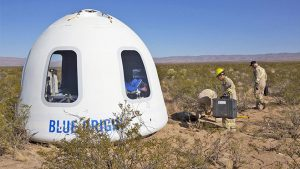 Blue Origin insanlı deneme