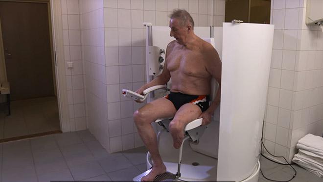 poseidon shower