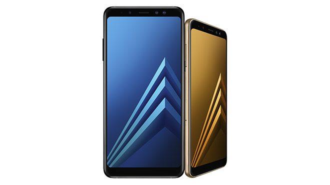Samsung Galaxy A8(2018) ve Galaxy A8+(2018)