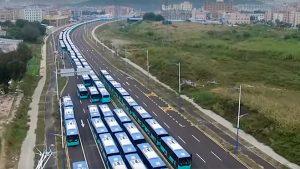 Shenzhen elektrikli otobüs