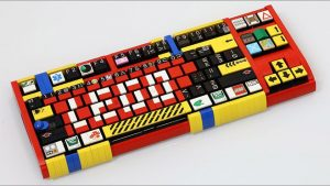 LEGO mekanik klavye