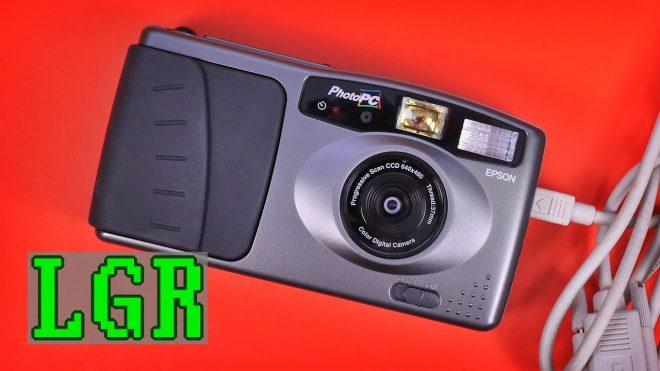 Epson PhotoPC fotoğraf makinesi