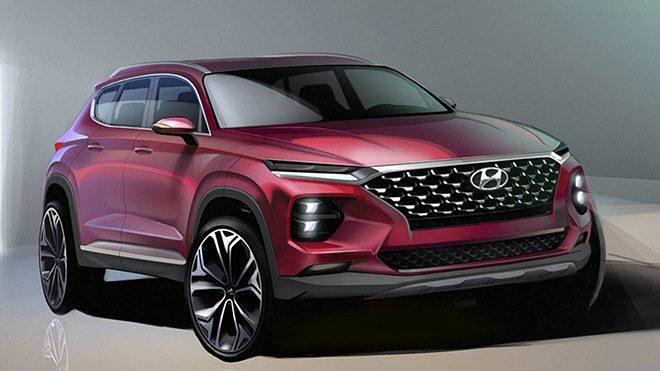 Karşınızda Merak Edilen Tasarım Detaylarıyla 2019 Hyundai Santa Fe