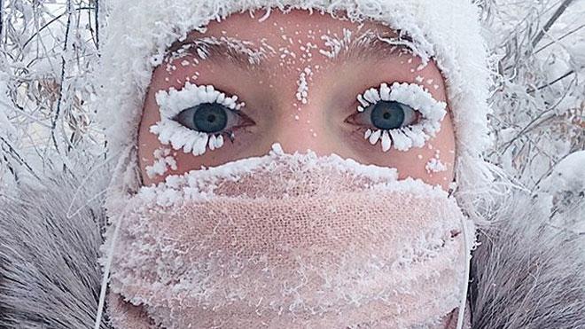 """62 derece, """"termometre patlatan"""" soğuklarda hayatın devam ettiği şehir [Galeri]"""