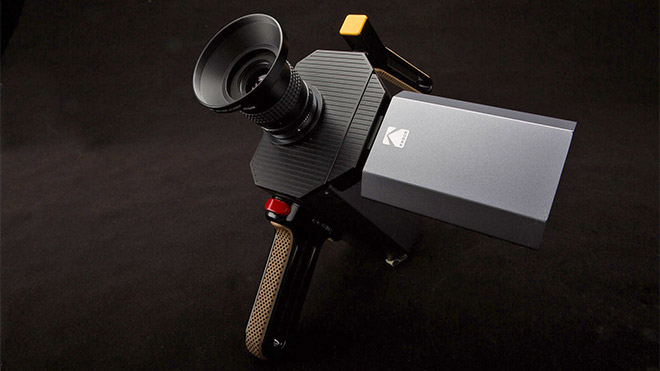 Kodak Super 8 filmi kamera