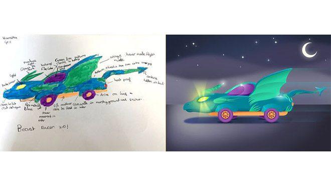 Çocukların gözünden Geleceğin otomobilleri