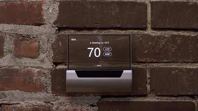 Cortana GLAS termostat