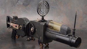 makineli tüfek kamera
