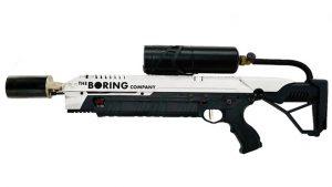 Elon Musk The Boring Company alev silahı